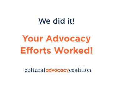 Advocacy Work